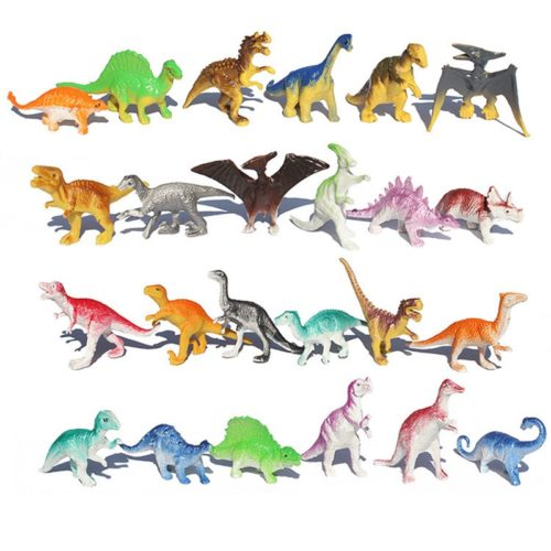 Rubber Dinosaurs 10-Piece Set