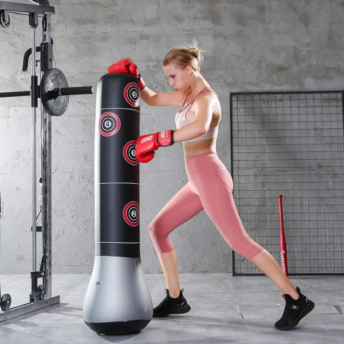 Blow Up Punching Bag Inflatable Boxing Bag