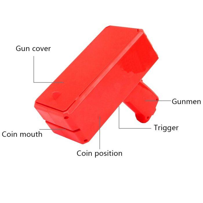 Money Gun Cash Launcher