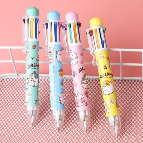 Cute Multicolor Pen in One (8 Colors)