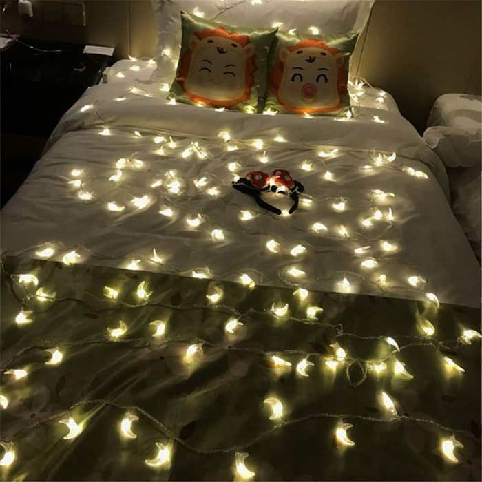Moon String Lights Waterproof LED