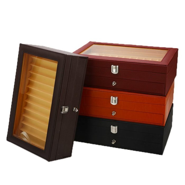 Pen Storage Box 2-Layer Container