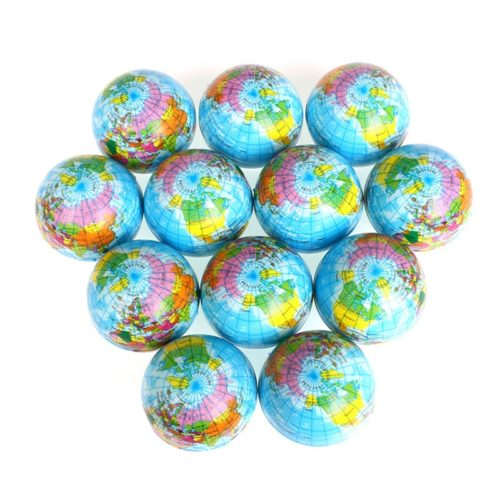 Globe Stress Balls Soft Squeeze Toy