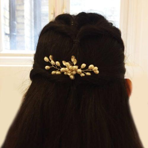 Bridal Hair Accessory Elegant Hairpin