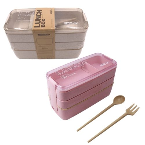 Stackable Bento Box 3-Layer Lunchbox