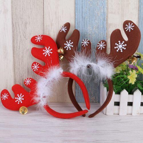 Reindeer Antlers Headband Accessory