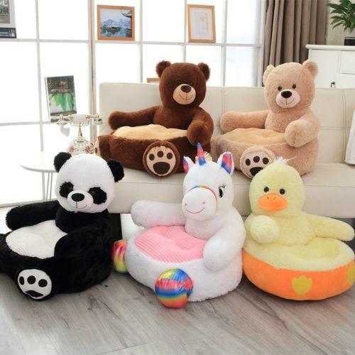 Animal Plush Chair Stuffed Toy Seat