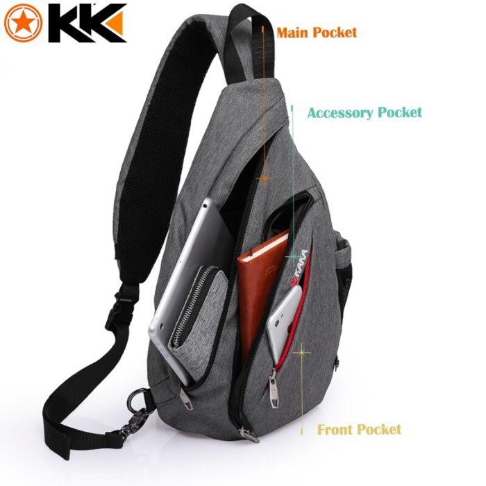 Unisex Sling Bag Chest Bag