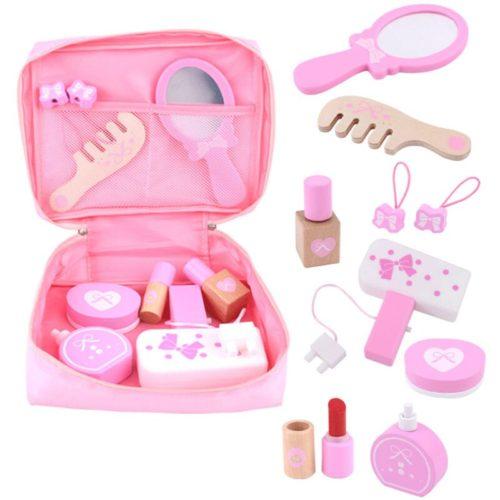 Pretend Toy Wooden Makeup Set