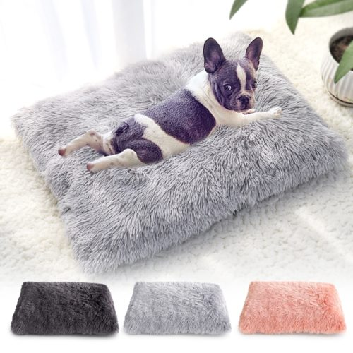 Plush Pet Bed Cushion Bed