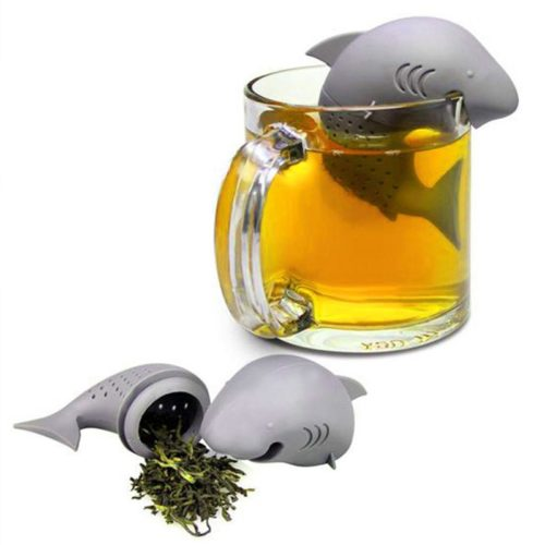 Shark Tea Infuser Silicone Strainer
