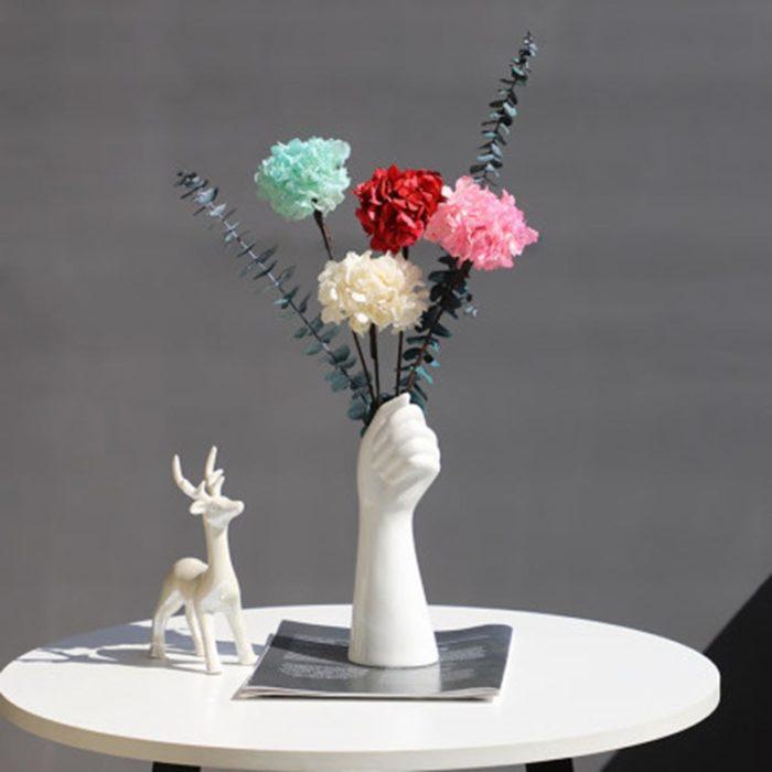 Hand Vase Creative Flower Vase
