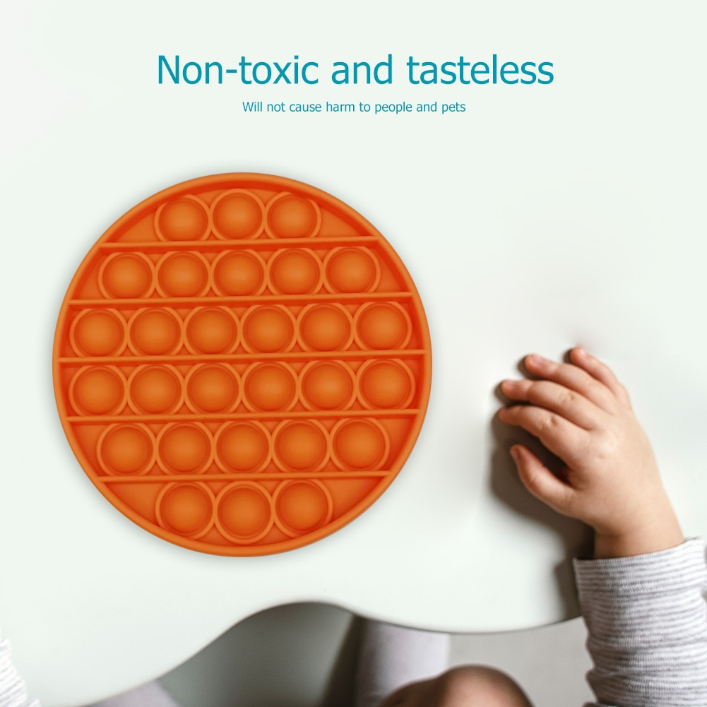 Push Pop Bubble Sensory Toy Autism Needs Squishy Stress Reliever Toys Adult Child Funny Anti-stress Pop It Fidget Reliver Stress