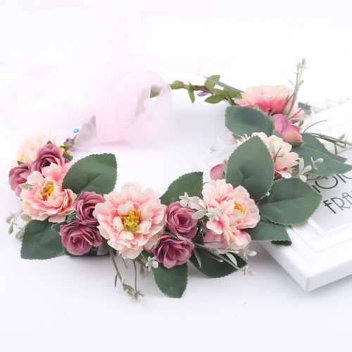 Flower Hair Garland Hair Accessory