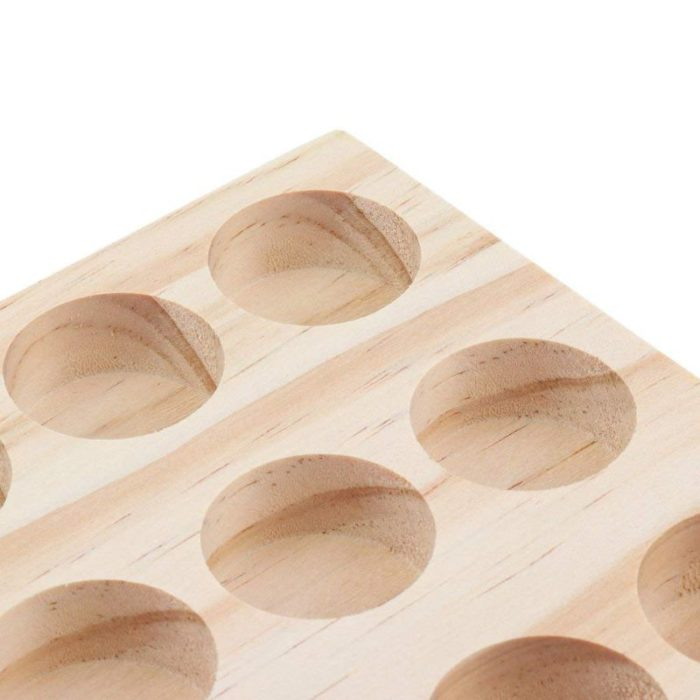 Essential Oil Tray Wooden Holder