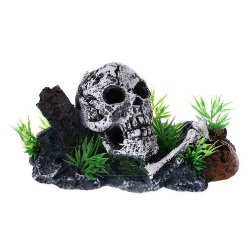 Skull Aquarium Decor Resin Ornament