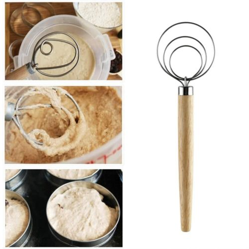 Dutch Dough Whisk Stainless Tool
