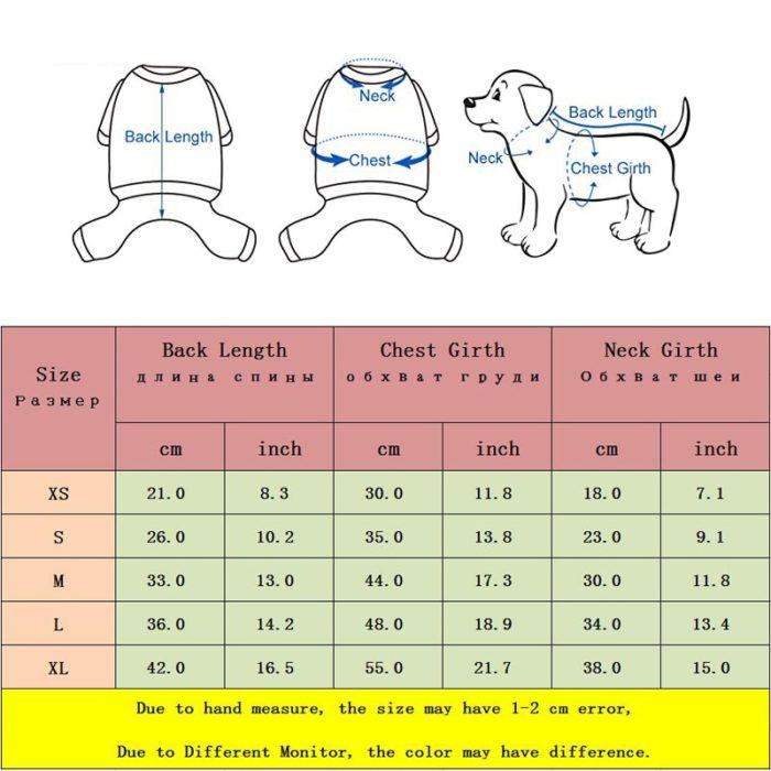 Dog Winter Vest Pet Warm Jacket