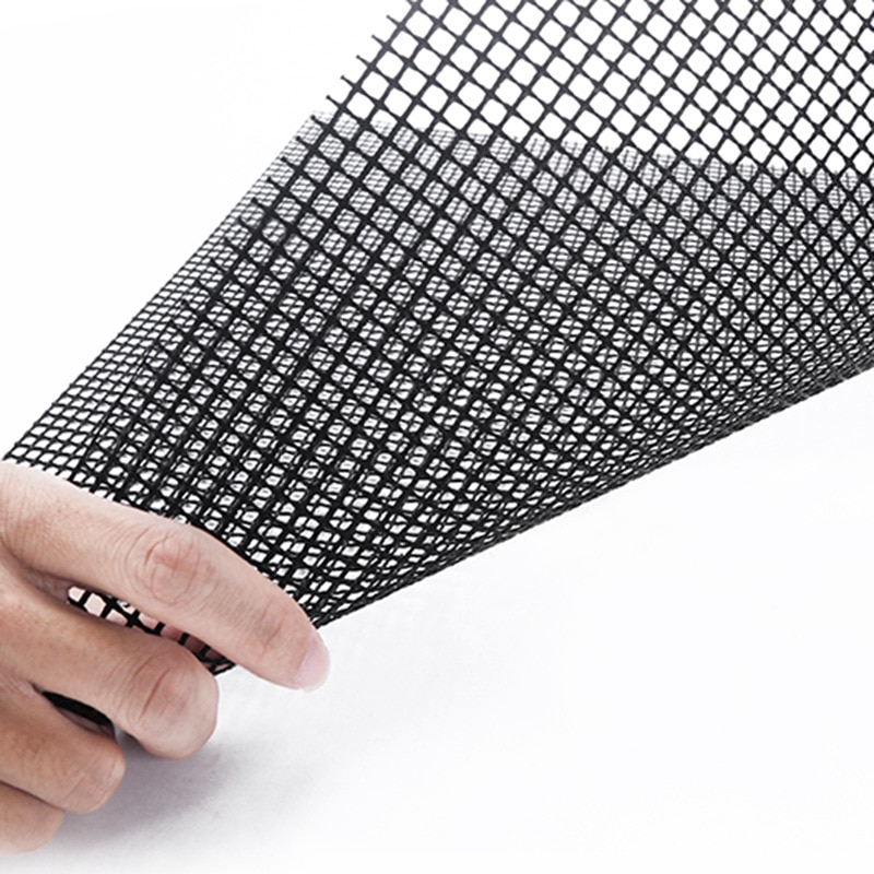 4 Size Non-Stick Grid Shape BBQ Mat Cooking Grilling Sheet Liner Fish Vegetable Smoker Grill Mats Barbecue Supplies Tools