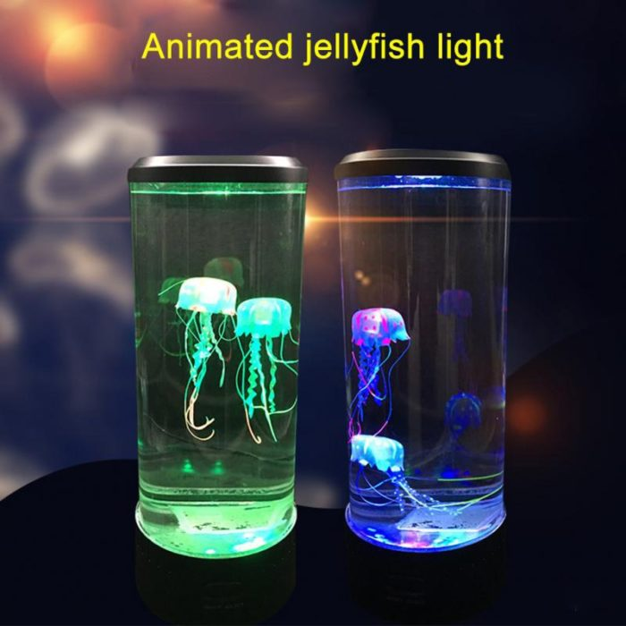 Jellyfish Mood Lamp Aquarium Night Light