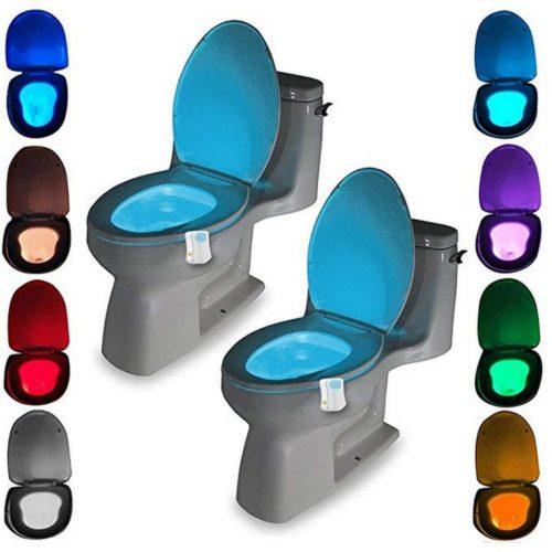 Motion Sensor Toilet Light LED
