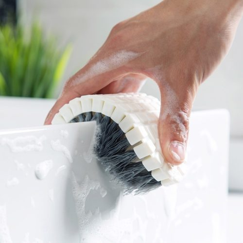 Flexible Cleaning Brush Scrubber