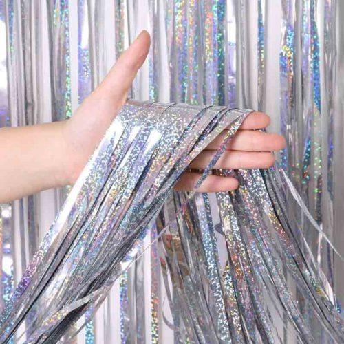 Foil Backdrop Metallic Party Curtain