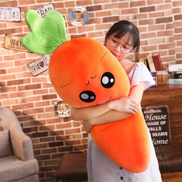 Carrot Plush Toy Soft Stuffed Toy