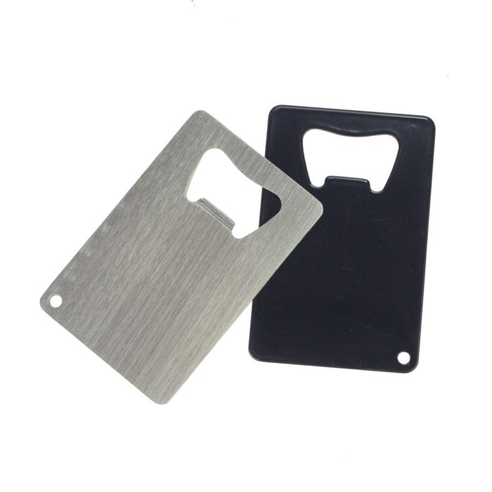 Wallet Bottle Opener Stainless Card