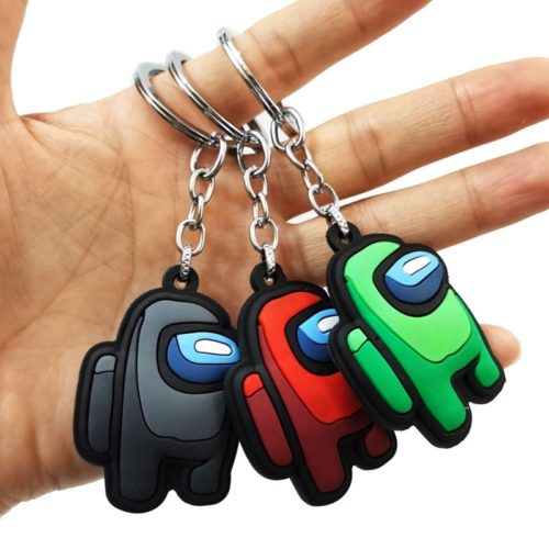 Among Us Keychain Silicone Accessory