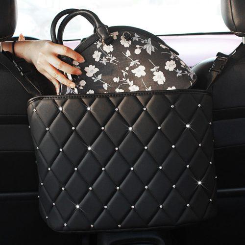 Car Bag Holder Seat-Mount Organizer