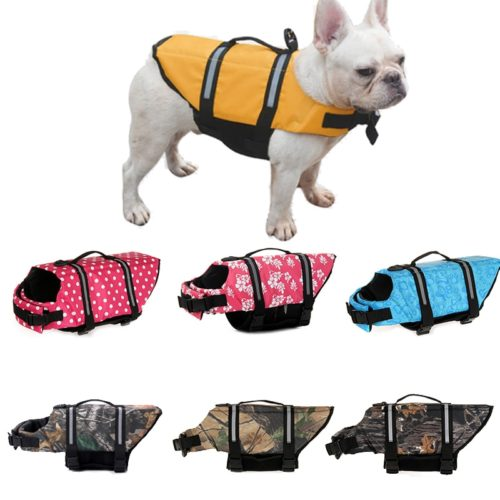 Puppy Life Jacket Floating Dog Suit