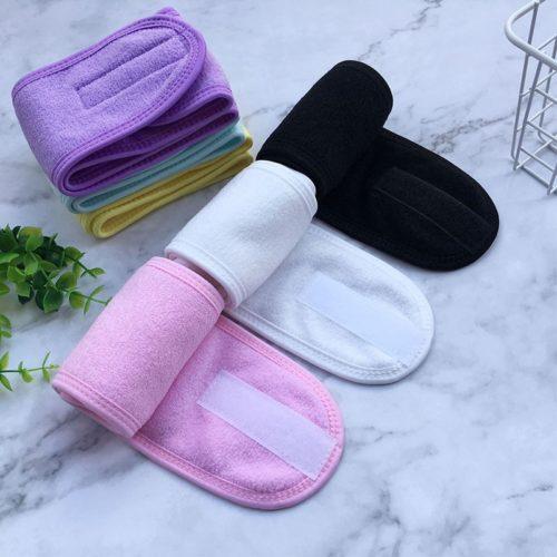 Shower Headband Adjustable Hair Wrap