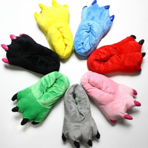Claw Slippers Warm Costume Paw Shoes
