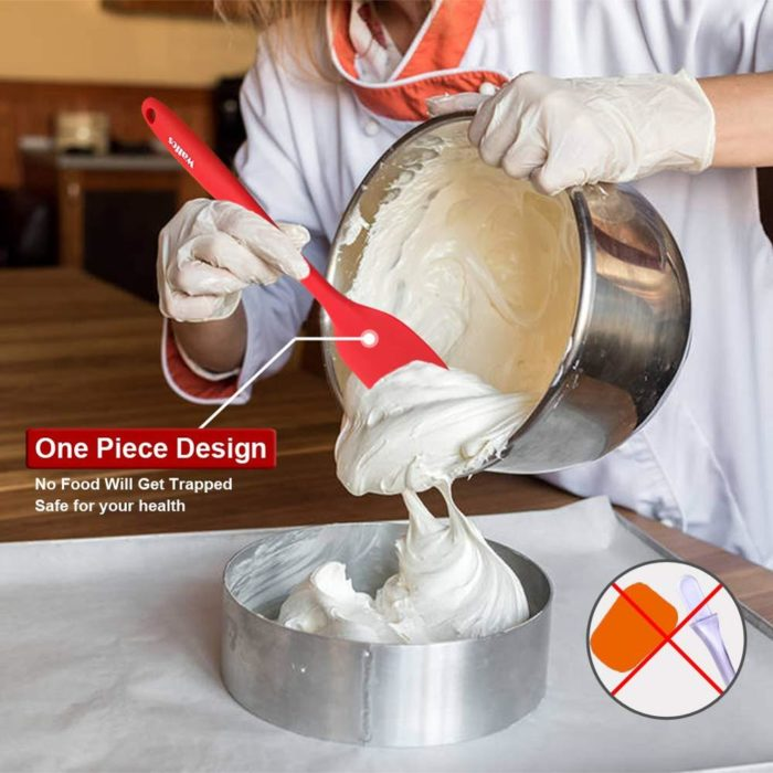Silicone Baking Spatula Set (5 Pcs)