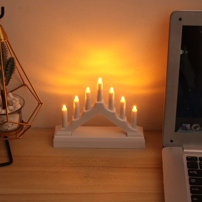 Candle Arch LED Home Ornament