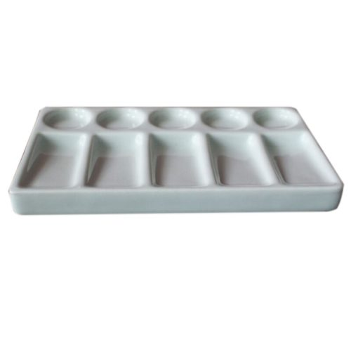 Ceramic Paint Palette 10-Hole Tray