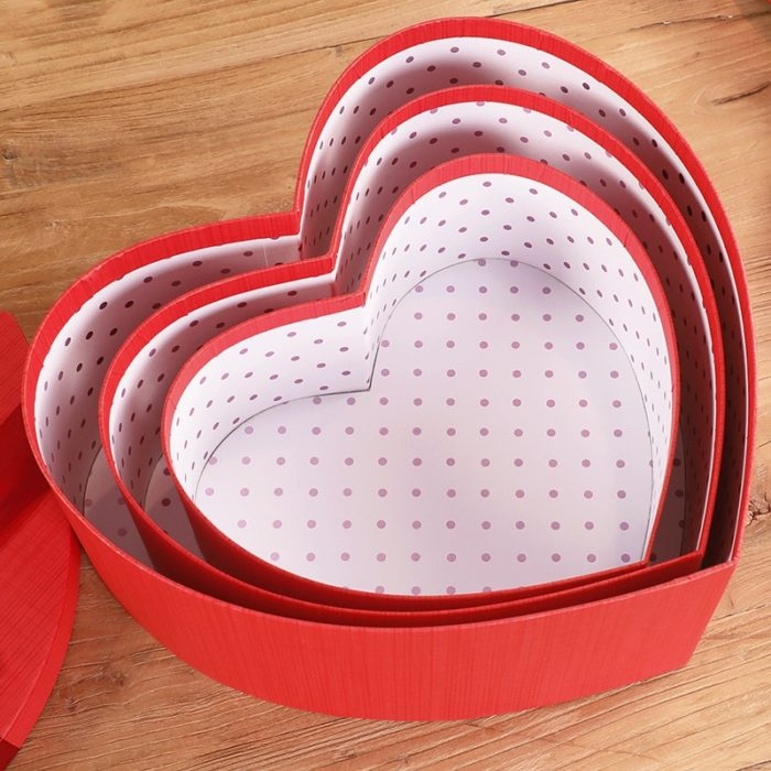 Heart Shaped Gift Boxes Gift Storage Boxes