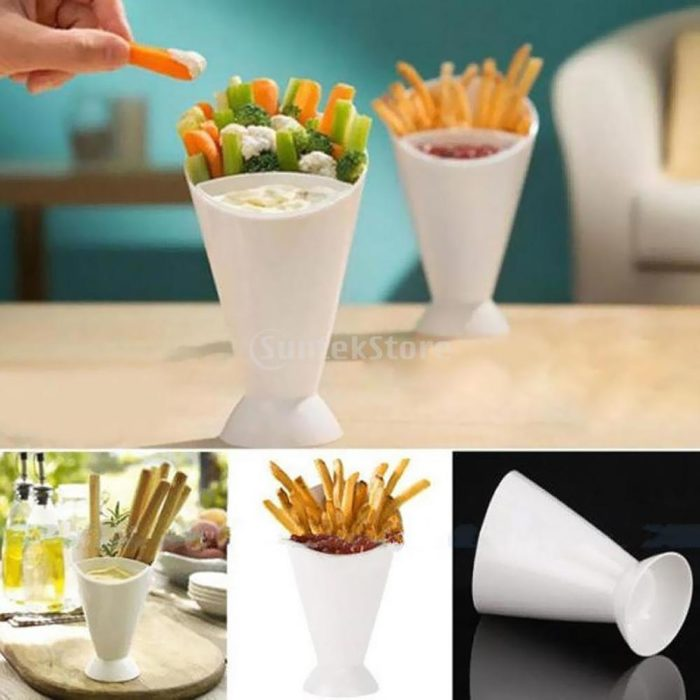French Fry Cone Finger Foods Snack Holder