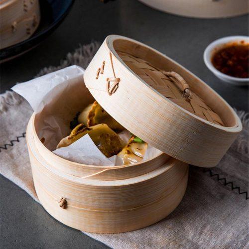 Bamboo Dumpling Steamer Dumpling Basket
