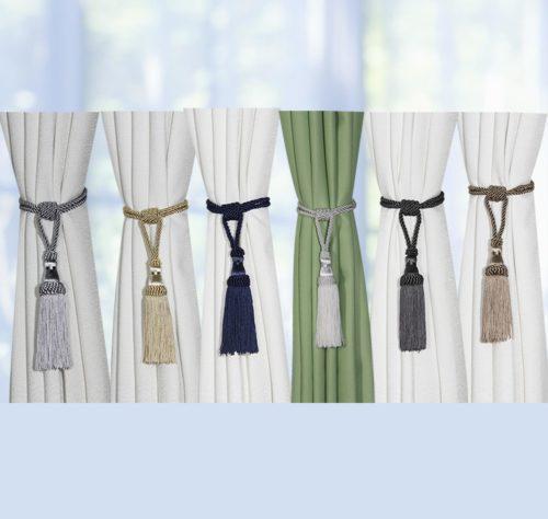 Tassel Curtain Tie Back Rope Strap