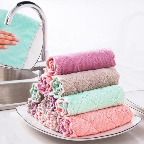 Microfiber Rags Cleaning Cloth 2PC/Set