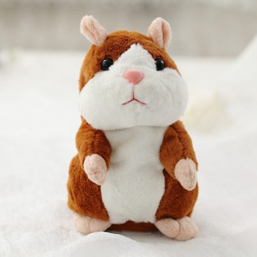 Talking Hamster Toy Cute Plush