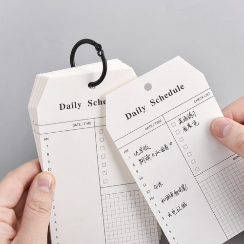 Daily Planner Notepad 52-Sheet Pad