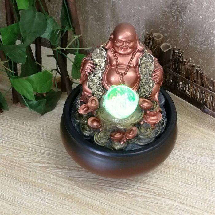 Buddha Indoor Fountain Lucky Charm
