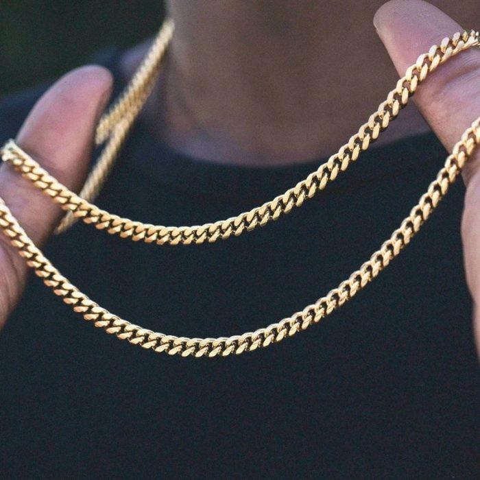Cuban Link Chain Unisex Fashion Accessory