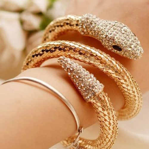Snake Bracelet Stylish Fashion Accessory
