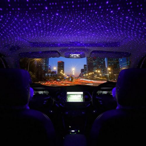 USB Star Lights Car Roof Galaxy LED