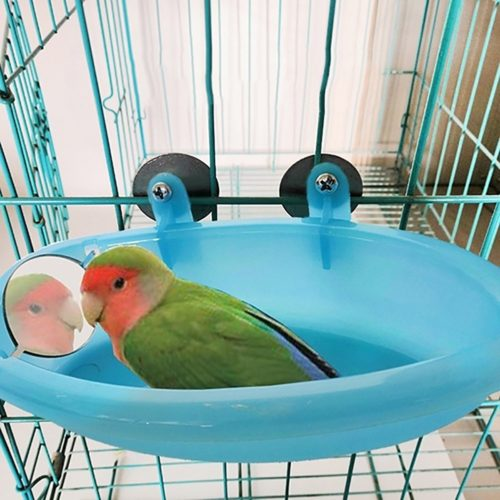 Birdcage Bath Mirror Shower Basin
