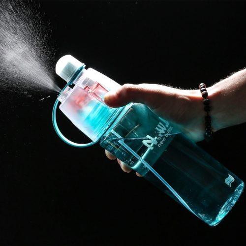 Spray Drink Bottle Sport Water Container